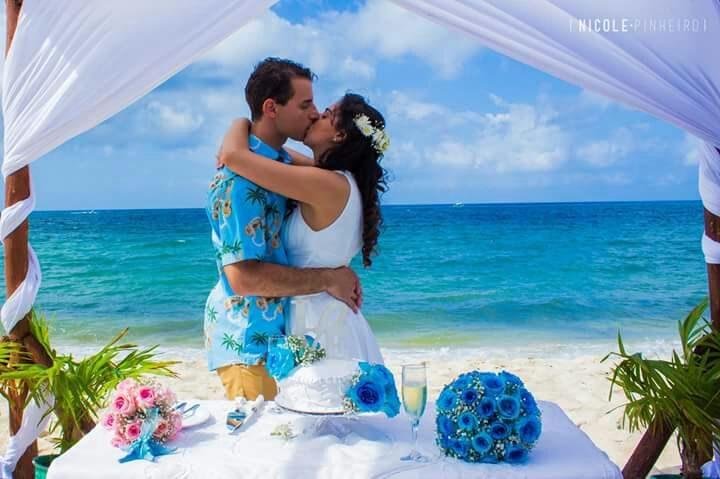 Bodas en la playa, bodas naturales para parejas conscientes y que cuida a la naturaleza